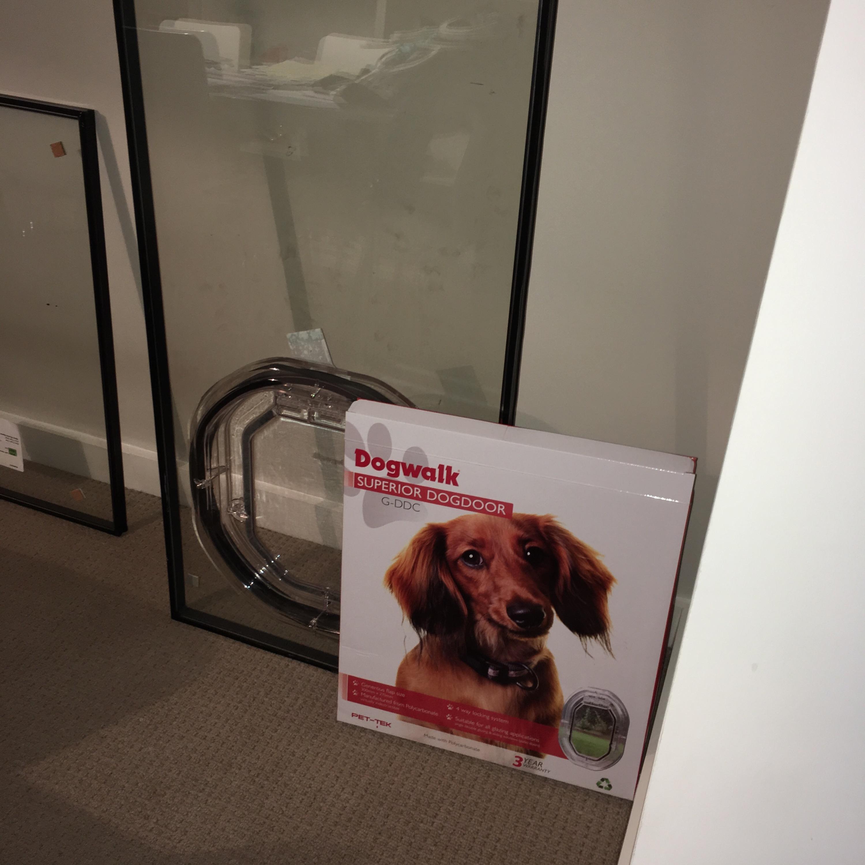 French Door Cat Door: CAT FLAP FITTED INTO GLASS INCLUDING PATIO / FRENCH DOOR